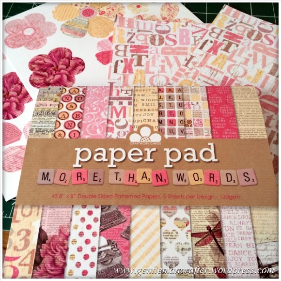 Decorating A Set Of MDF Drawers With Craftwork Cards Paper - 2