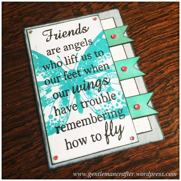 Artist Trading Card Daily 102 - Friends 1