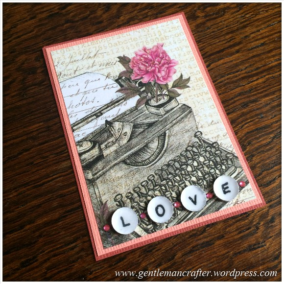 Artist Trading Card Daily 103 - More Than Words Craftwork Cards 1