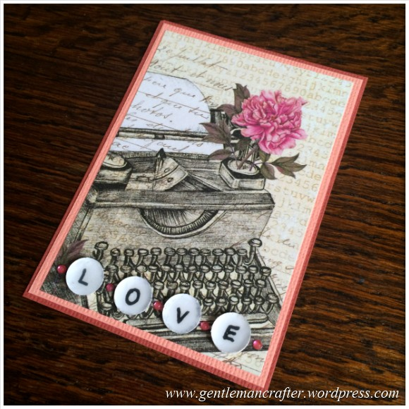 Artist Trading Card Daily 103 - More Than Words Craftwork Cards 2