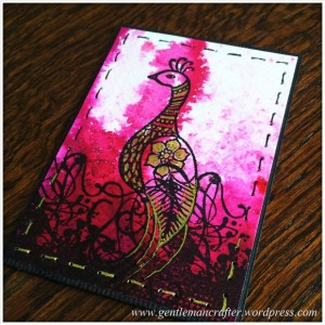 Artist Trading Card Daily - 107.2