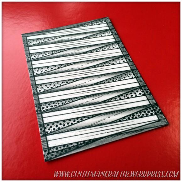 Zen Doodle Zentangle Artist Trading Card Daily - 113