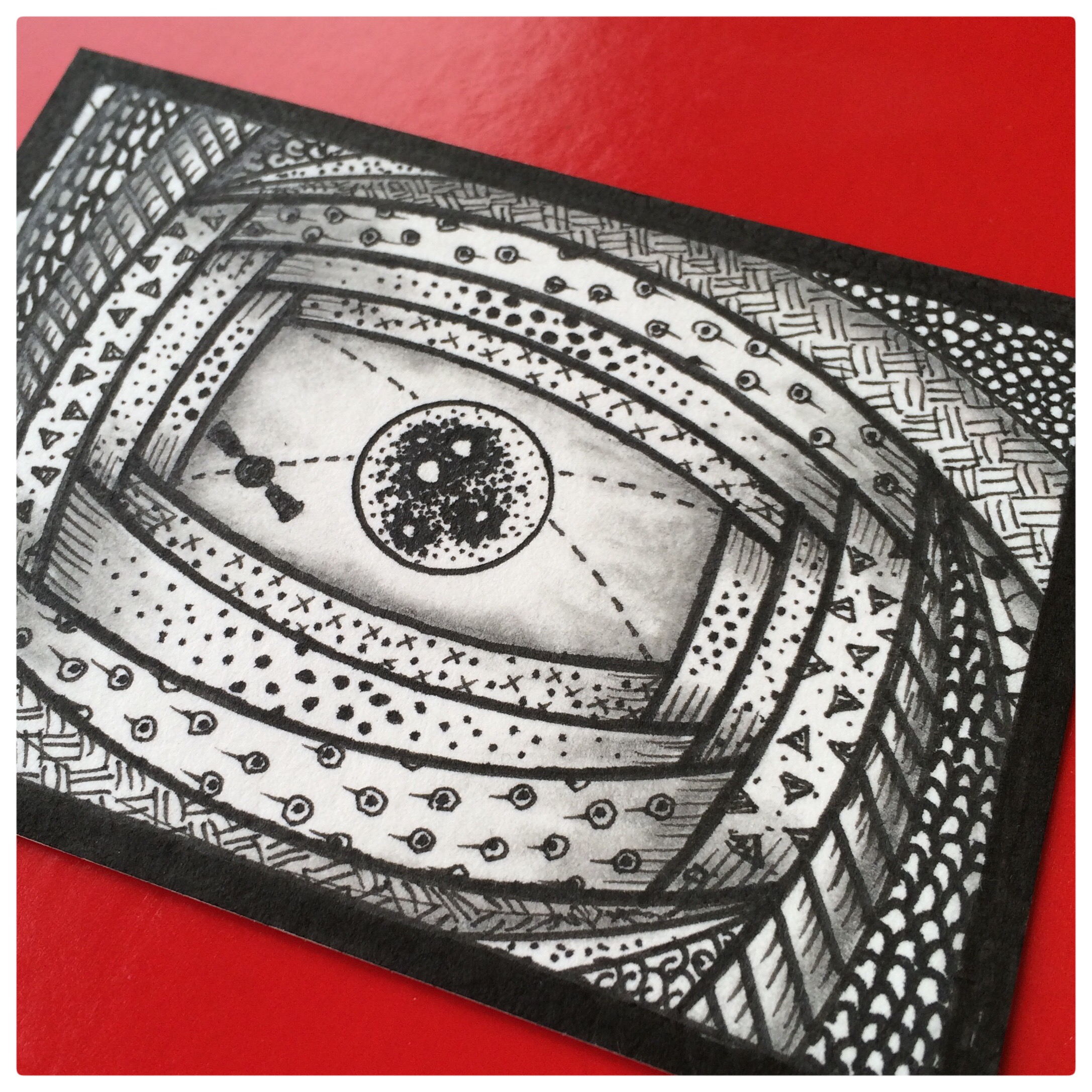 Zen Doodle Artist Trading Card Daily - 112.2