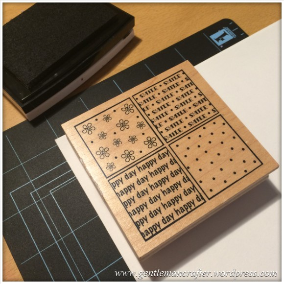 Monday Mash Up - Tea Bag Folded Stamping - 1