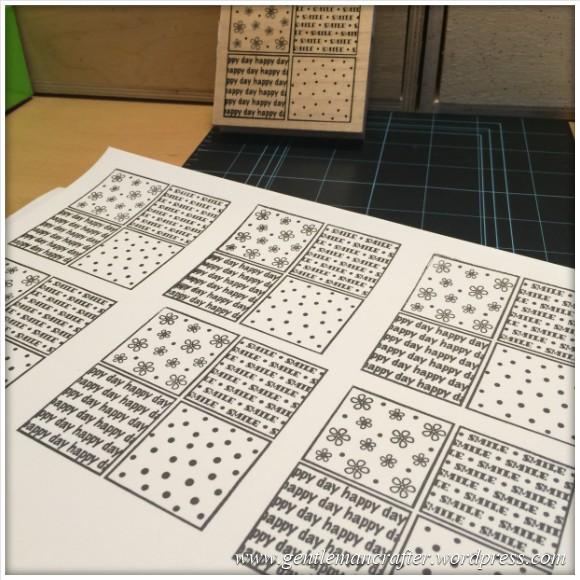Monday Mash Up - Tea Bag Folded Stamping - 2