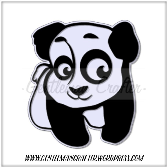 Free Panda SVG Cutting File