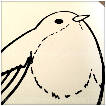 Robin Artist Trading Card Colouring In - 3