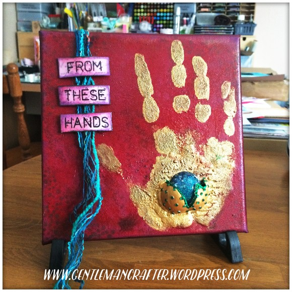 From These Hands Mixed Media Canvas - 1