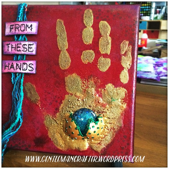 From These Hands Mixed Media Canvas - 2