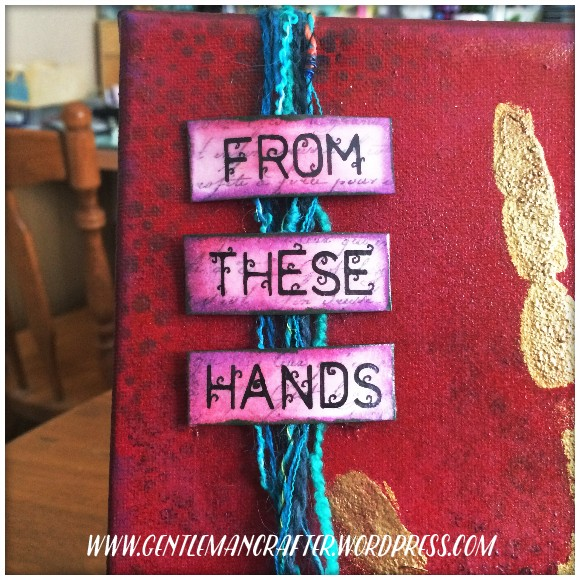 From These Hands Mixed Media Canvas - 4