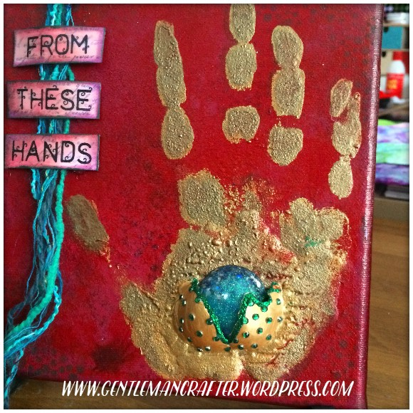 From These Hands Mixed Media Canvas - 5