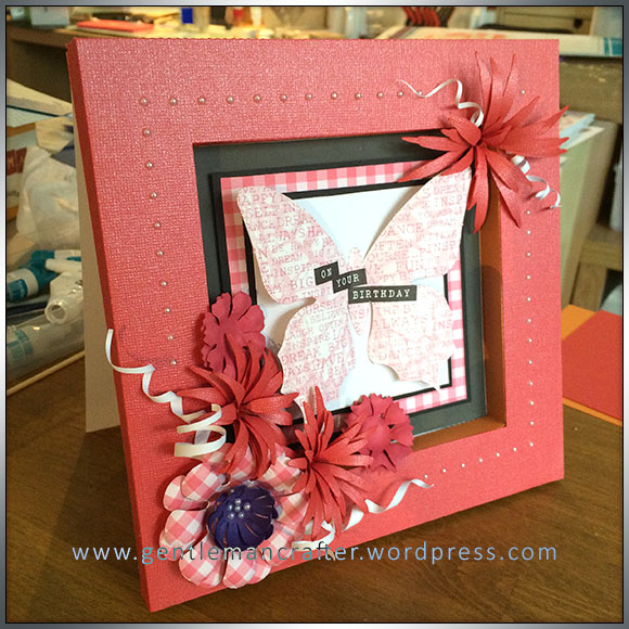 A Day Of Delights - Box Frame Card Front - 1