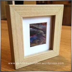 Abstract Encaustic Wax Art - 1