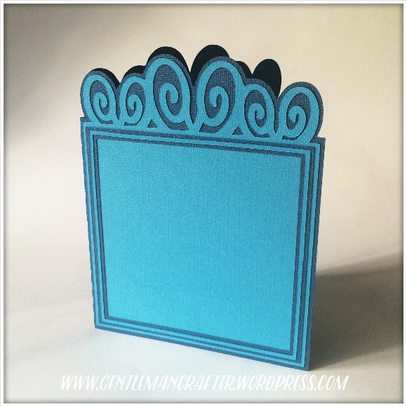 Fancy Flourish Header Card SVG Cutting File 1