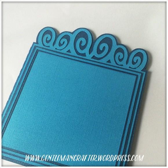Fancy Flourish Header Card SVG Cutting File 2