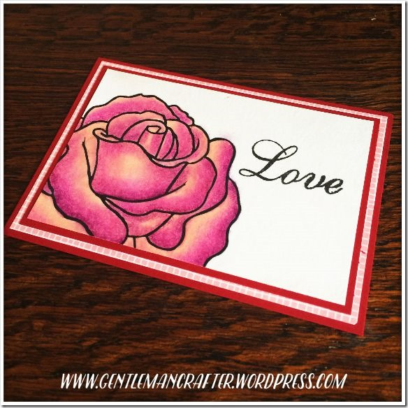 Artist Trading Card Daily 129 Love Digi Stamp 1
