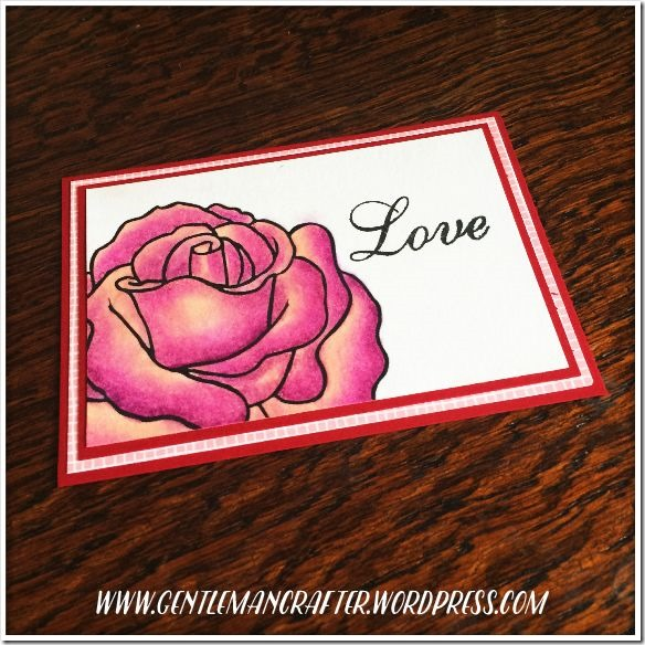 Artist Trading Card Daily 129 Love Digi Stamp 2