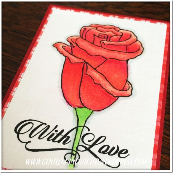 Artist Trading Card Daily 130 With Love Digi Stamp 2