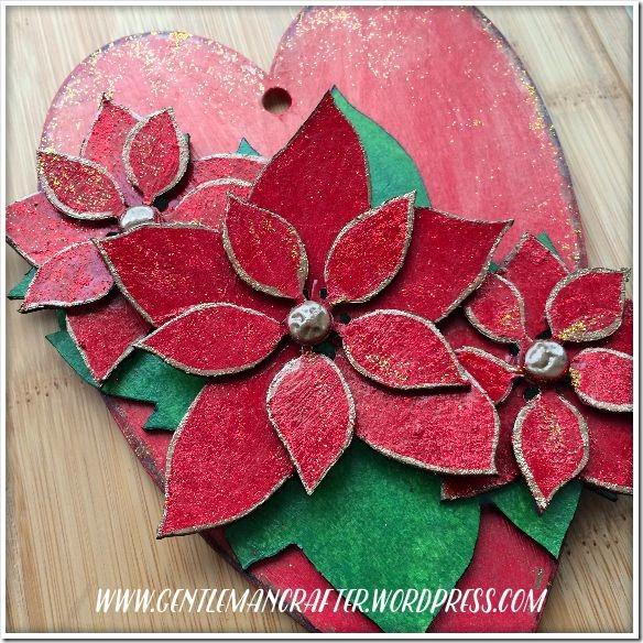 Georgina Ford - Poinsettia Heart 4