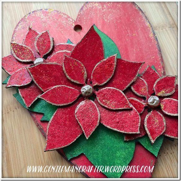 Georgina Ford - Poinsettia Heart 4