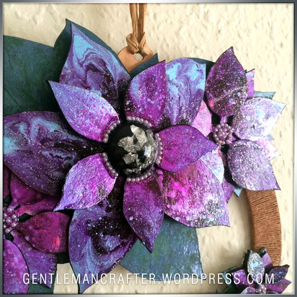 Georgina Ford Poinsettia Wreath (3)