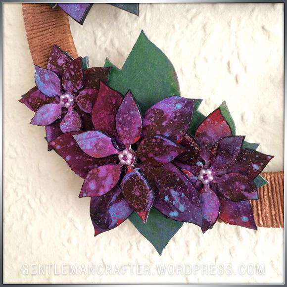 Georgina Ford Poinsettia Wreath (4)