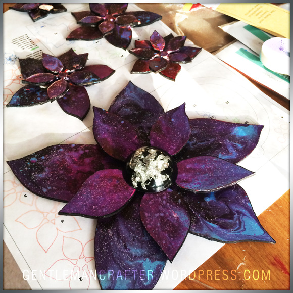 Gerogina Ford Poinsettia Wreath Step (2)