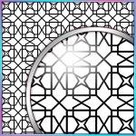 SVG Cutting File, FCM Cutting File, DXF Cutting File - Large Background 10