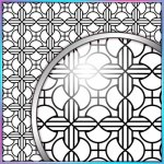 SVG Cutting File, FCM Cutting File, DXF Cutting File - Large Background 8