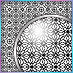 SVG Cutting File, FCM Cutting File, DXF Cutting File - Large Background 7