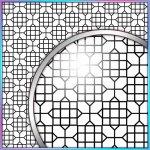 SVG Cutting File, FCM Cutting File, DXF Cutting File - Large Background 6