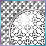 SVG Cutting File, FCM Cutting File, DXF Cutting File - Large Background 5