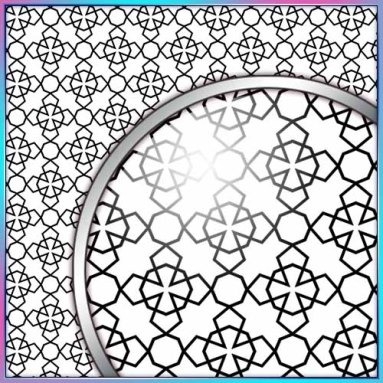 SVG Cutting File, FCM Cutting File, DXF Cutting File - Large Background 5