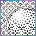 SVG Cutting File, FCM Cutting File, DXF Cutting File - Large Background 3