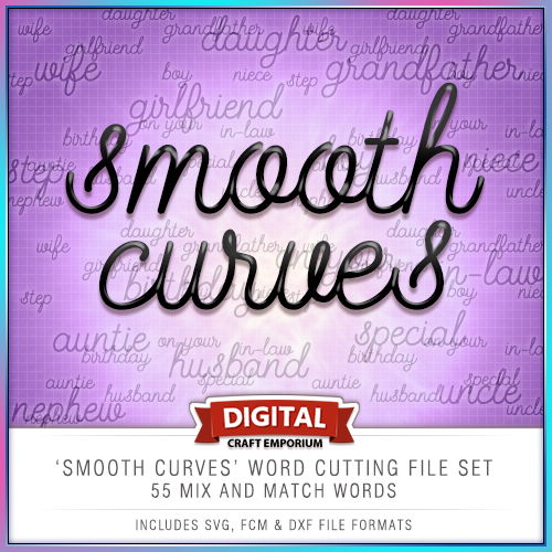 Smooth Curves Word Collection Preview