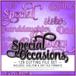 Special Occasions Word Pack Preview