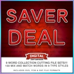 SAVER DEAL Word Collection Preview