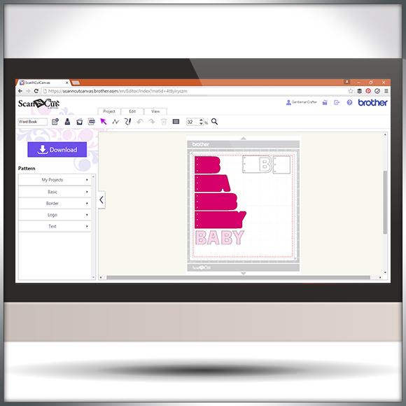Making Word Book Panels In Scan N Cut Canvas - Blog Slide