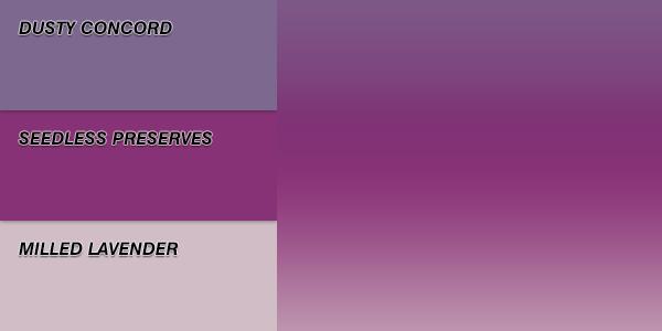 Distress Ink Linear Blend Swatch - Smooth Velvet
