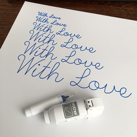 Single Line Font - Pen Test 3