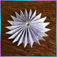 Folded Rosette 3