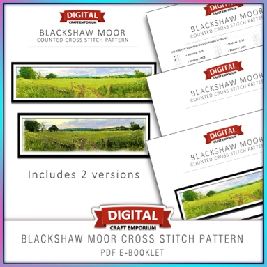Blackshaw Moor Cross Stitch eBooklet Preview