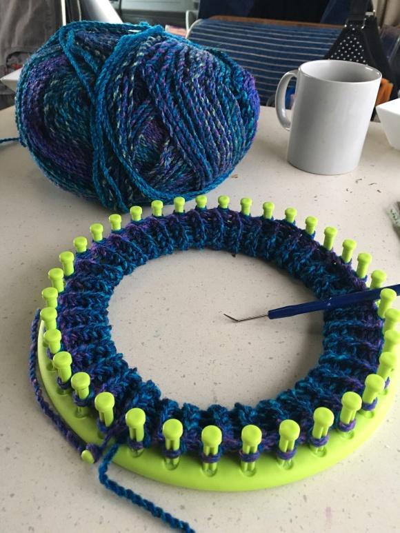 Knitting Loom Progress