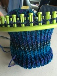 Knitting Loom Progress