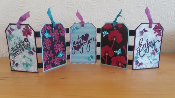 Tag book by Judy