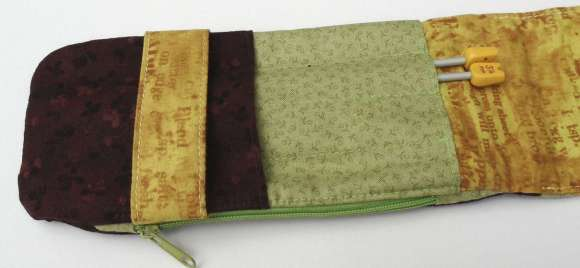 August Colour Challenge - Bag by Karla Parsons