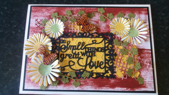 August Colour Challenge by Judy Del Perugia
