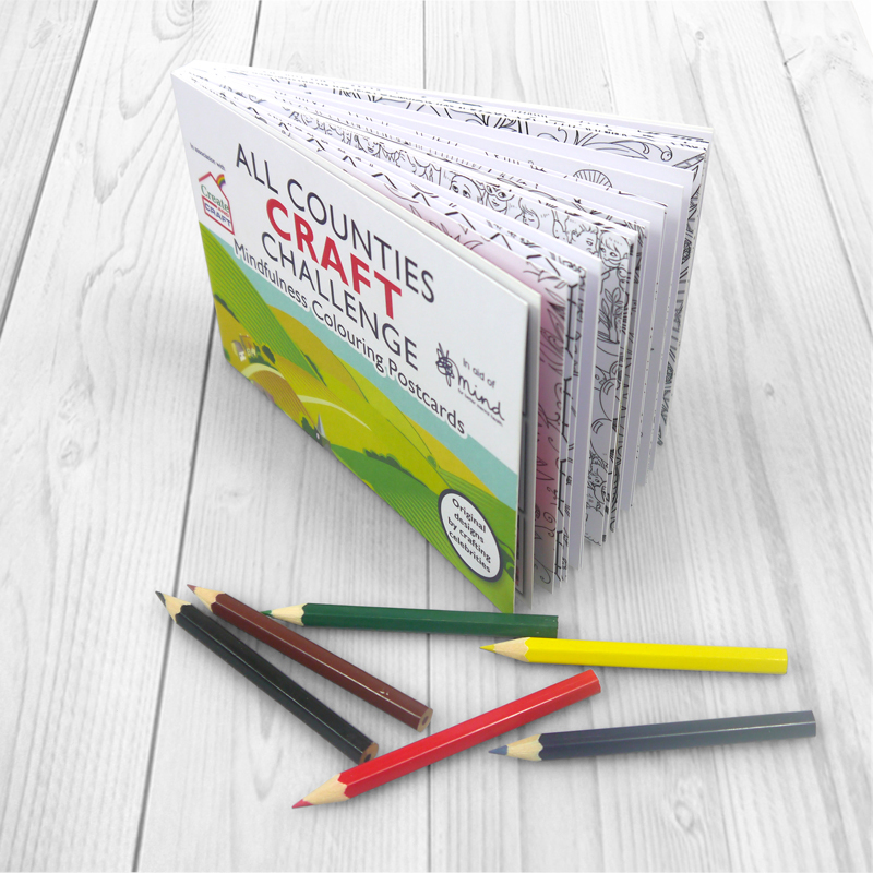 All Counties Craft Challenge Colouring Book