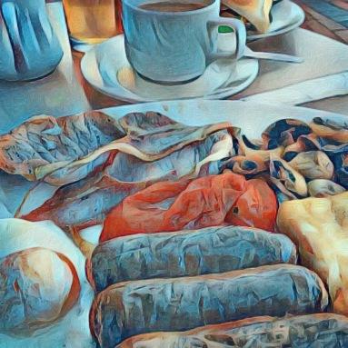 Abstract Breakfast