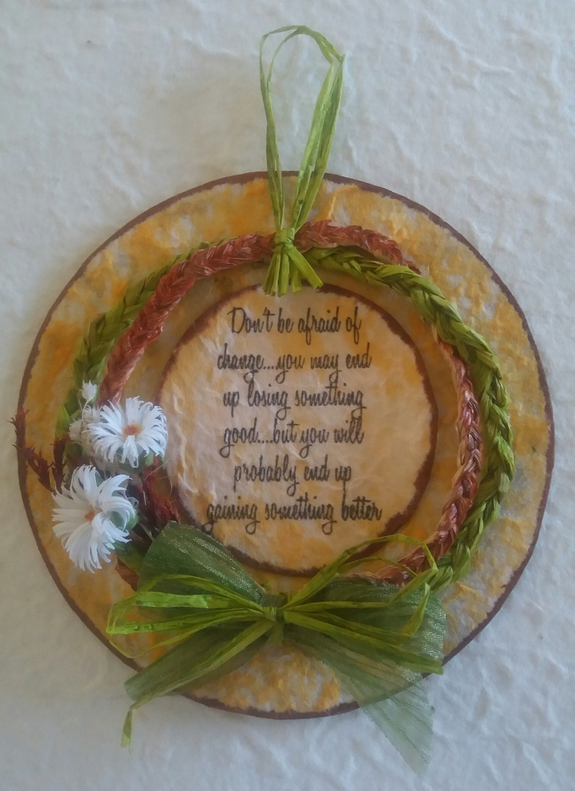 Wreath by Judy Del Perugia